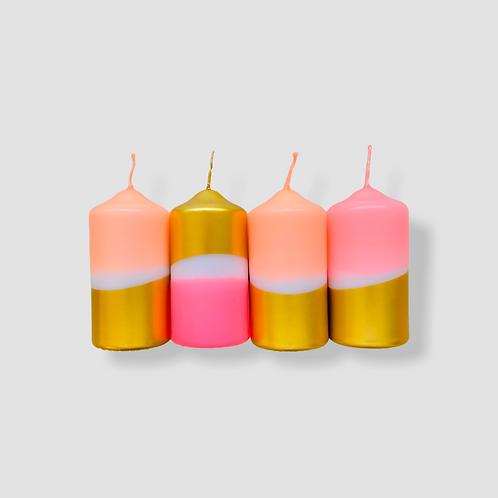 Dip Dye Sparkle * Golden Ice