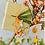 Thumbnail: Weihnachtsanhänger neonorange