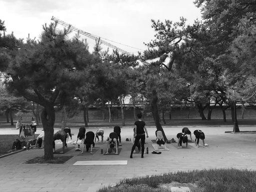humble yoga with yiyang