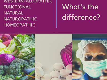 Medical Philosophies:  What's the Difference?