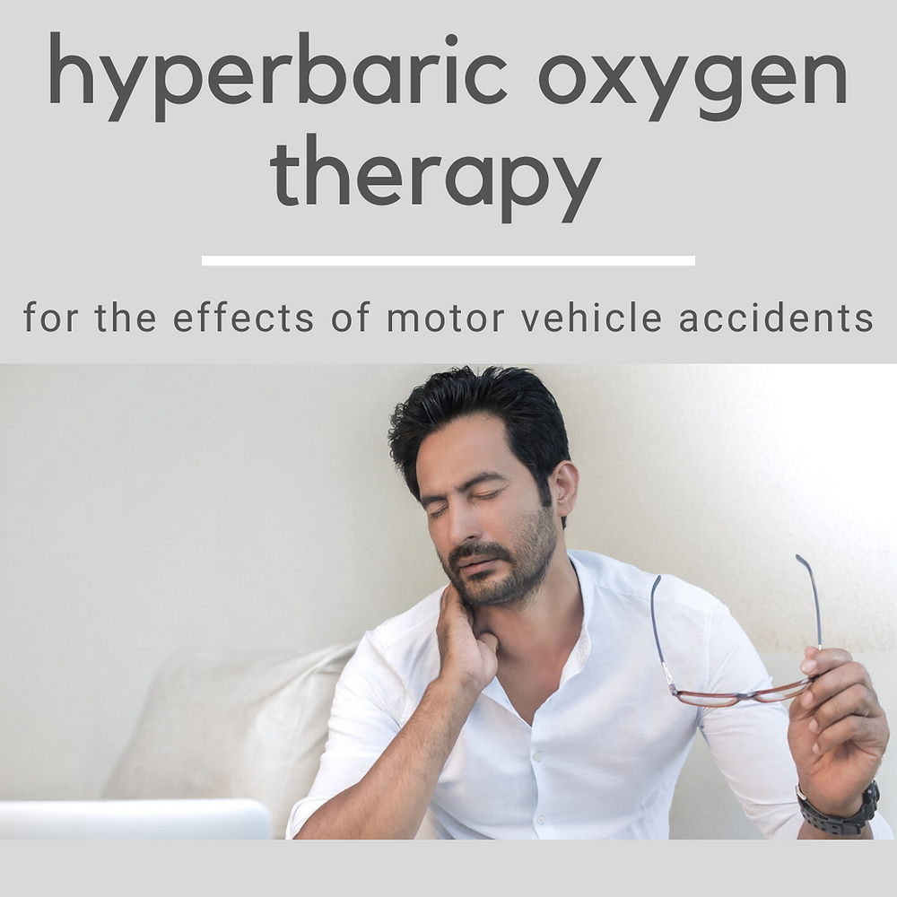 hyperbaric oxygen therapy for car accidents, The Koa Clinic, Dr. DeSoto