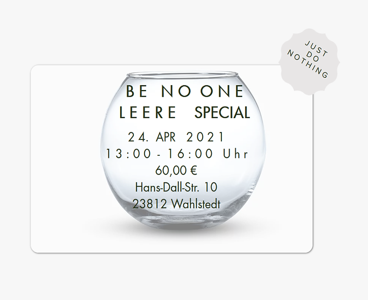 Be No One APR21.png