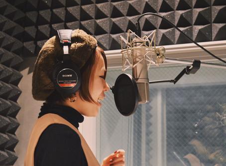 【Blog】Recording for my 1st album..