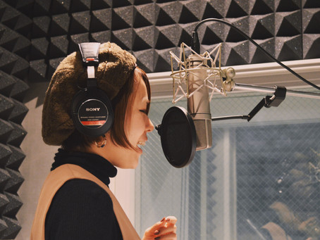 【Blog】Recording for my 1st album..