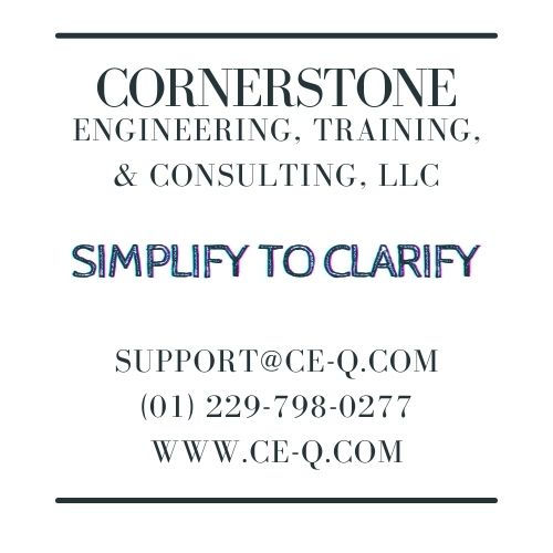 "CETC, LLC ""Simplify to Clarify"" support@CE-Q.com"