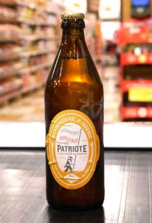 Pub La Fabrique. Bière : Patriote