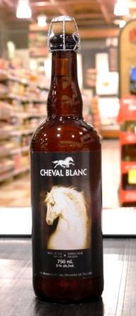 Les brasseurs RJ. Bière : cheval blanc