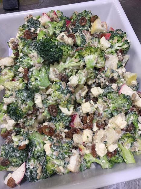 Salade brocoli, pommes de terre et feta