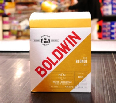 Microbrasserie Boldwin. Bière : Boldwin blonde