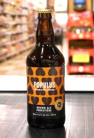 Brasserie générale. Bière : Populus