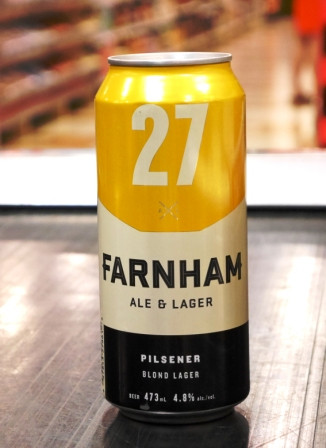Microbrasserie Farnham Ale&Lager. Bière : 27