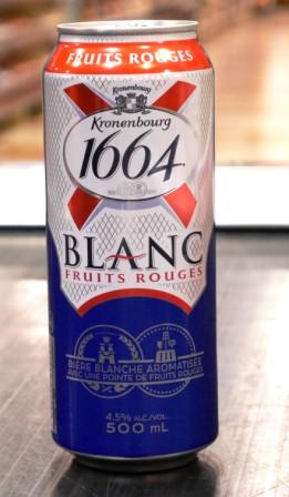Brasserie Kronenbourg : Bière : 1664 Blanc