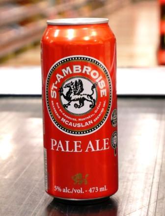 Microbrasserie McAuslan. Bière : Pale Ale