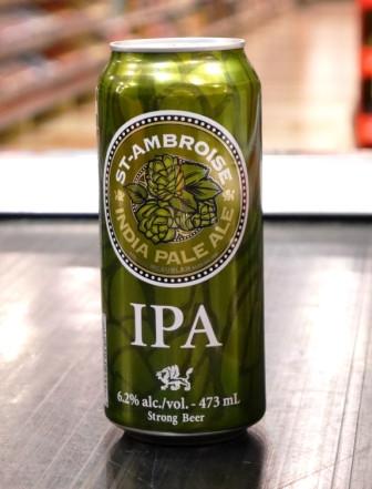 Microbrasserie McAuslan. Bière : Indian Pale Ale