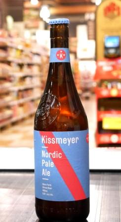 Beau's. Bière : Kissmeyer Nordic Pale Ale