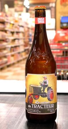 Trou du Diable Bière la saison du tracteur