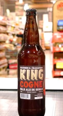 Kruhnen Bière : King cogne