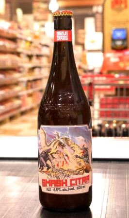 Trou du Diable Bière Smash IPA Citra