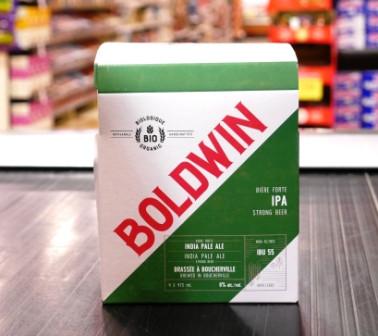 Microbrasserie Boldwin. Bière : Boldwin indian pale ale