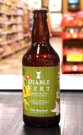 Bière Diable vert