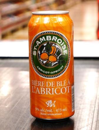 Bière de blé à L'abricot