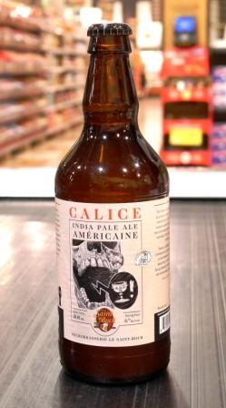 Le Saint-Bock. Bière Calice