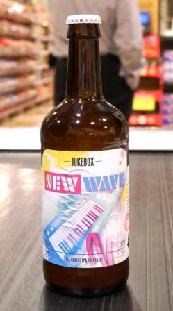Microbrasserie Jukebox.  Bière New wave
