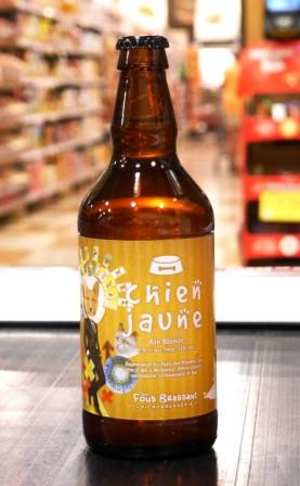 Bière Chien jaune