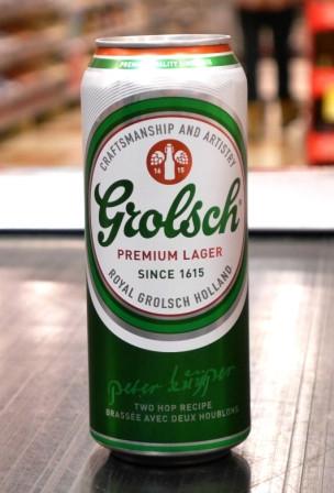 Brasserie Grolsch. Bière : Grolsch