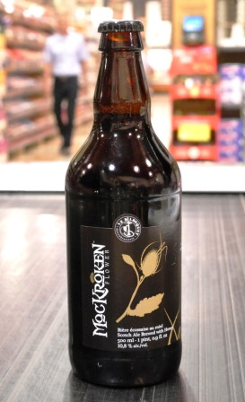 Microbrasserie Le Bilboquet. Bière : La Mackroken