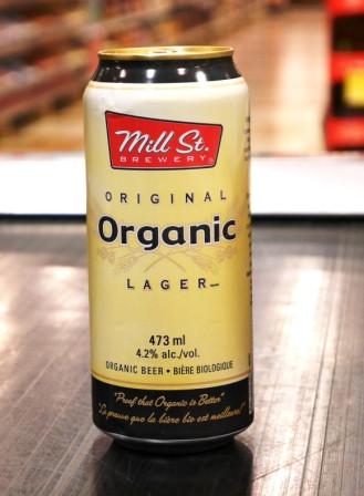 Brasserie Mill ST Brewery. Bière : Original Organic