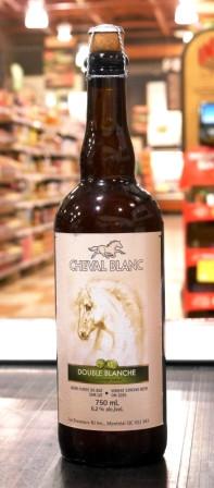 Les brasseurs RJ. Bière : cheval blanc blanche