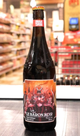 Trou du Diable Bière Le Baron noir