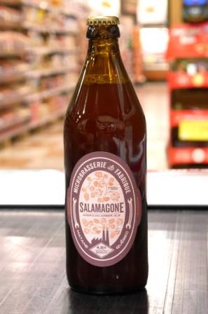 Pub La Fabrique. Bière : Salamagone