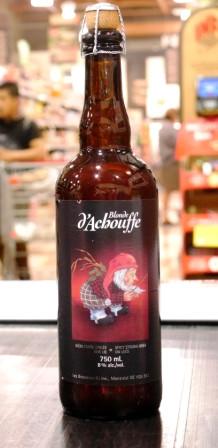 Achouffe : Bière : Blonde d'achouffe