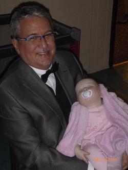 M. Benoit et sa petite fille Marion