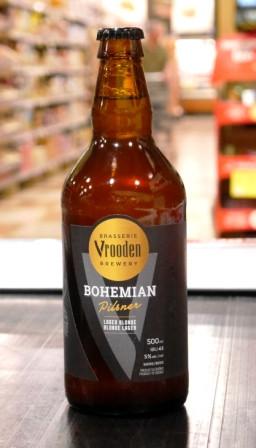 Microbrasserie Vrooden. Bière : Bohemian Pilsner