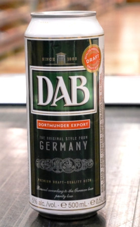 Brasserie Dab. Bière : dab