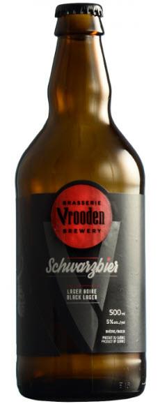 Microbrasserie Vrooden. Bière : Schwarzbier