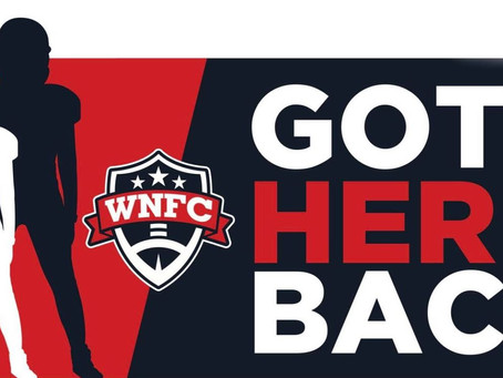 """Riddell Sports Partners with WNFC's Got Her Back Charity to """"Keep HER In The Game"""""""