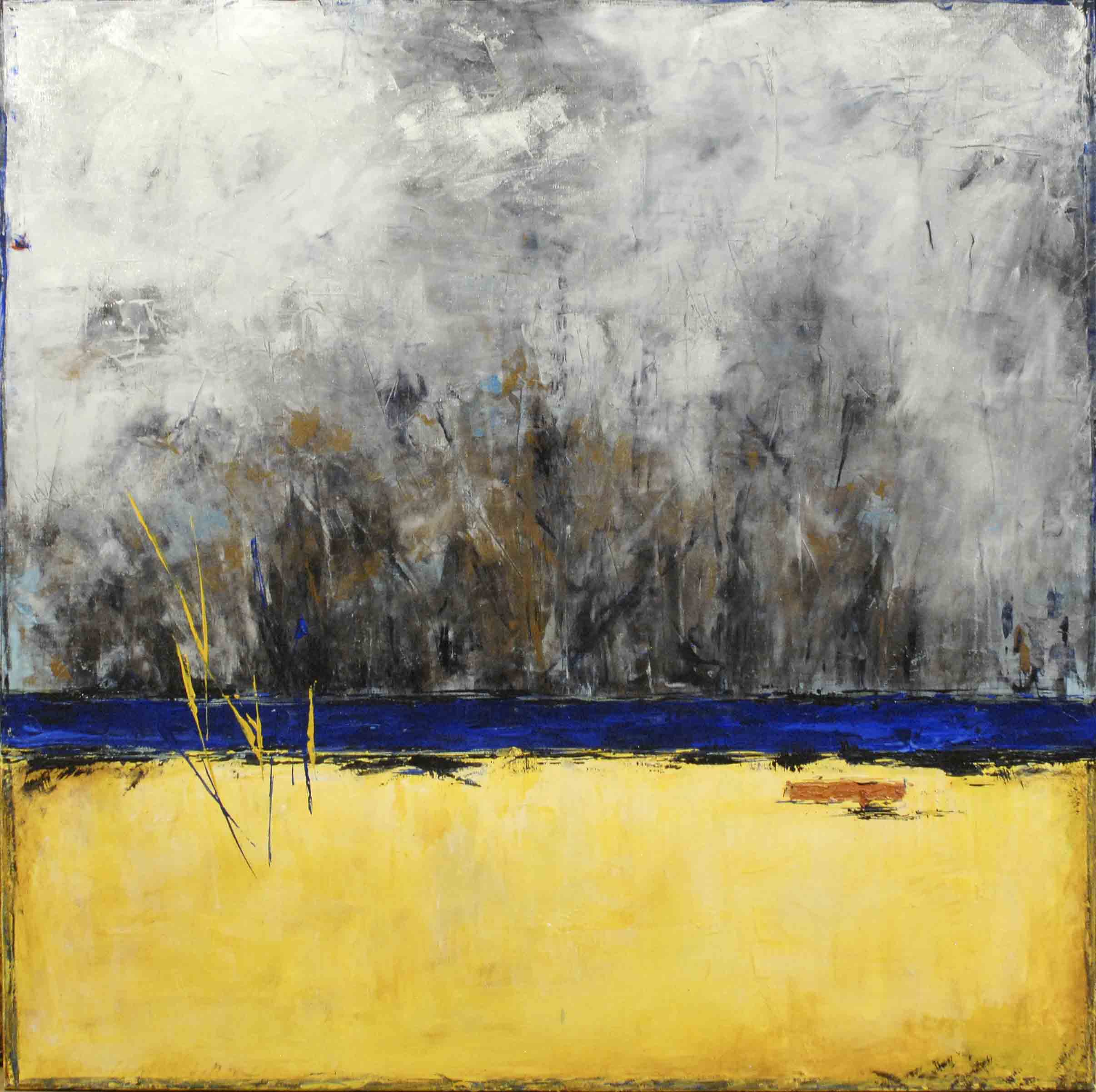 Bosque Yellow 36x36 (sold)
