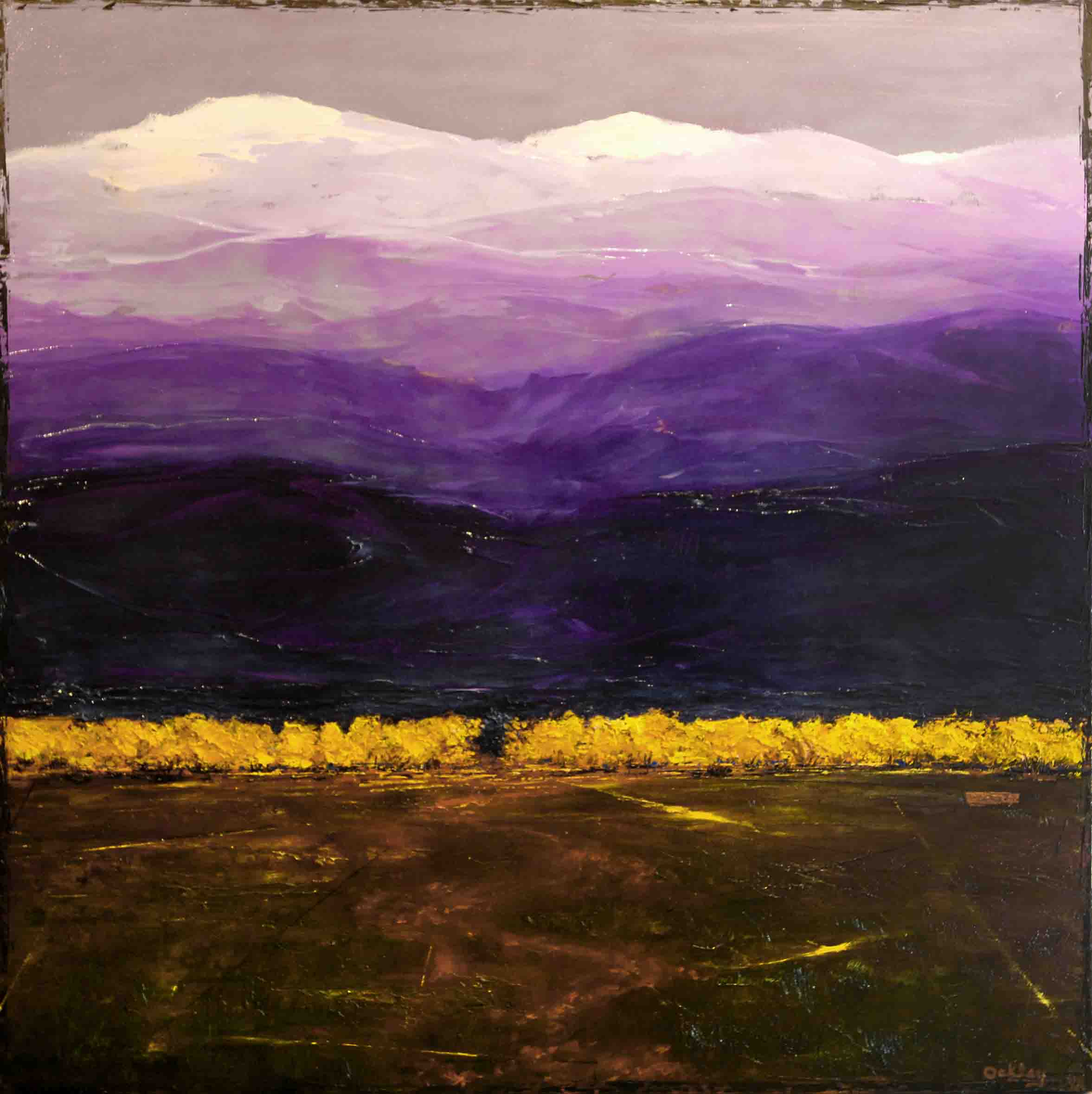 PurplePassage 36x36