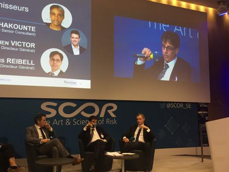 Conférence « Modernisation des opérations de réassurance » chez SCOR