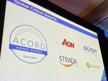 [Actualités] STRADA Conseil, Lauréat du Global Citizen award ACORD