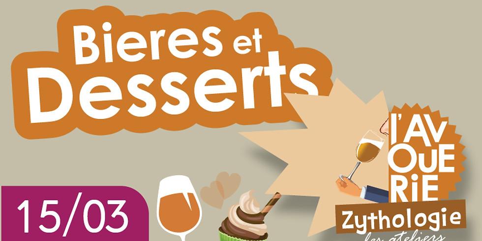 Les Soirées Zythologie de l'Avouerie - Bières et Desserts