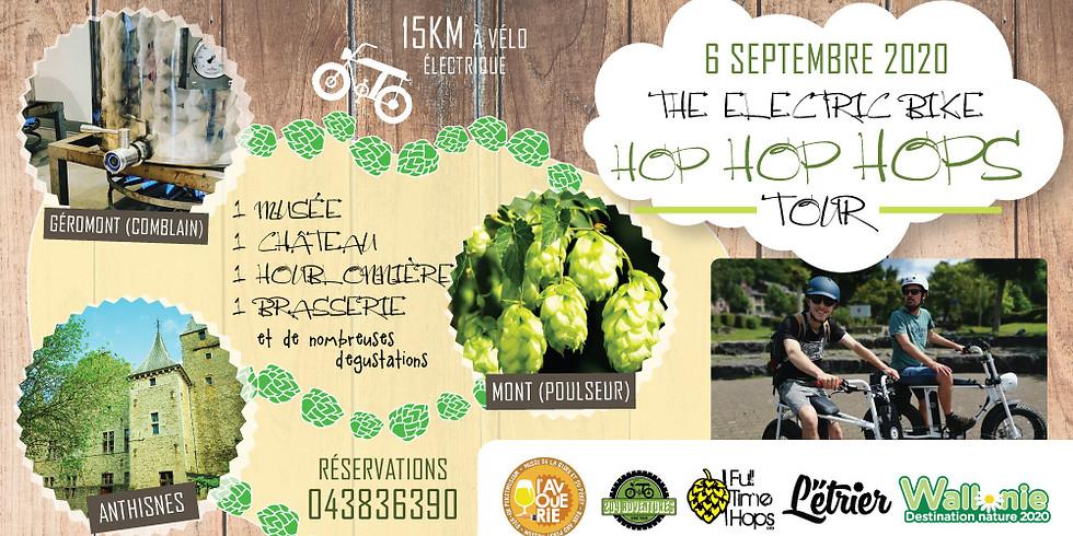 The Electric Bike Hop Hop Hops Tour