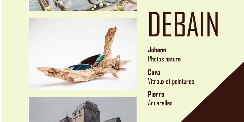 Debain / Exposition collective en famille