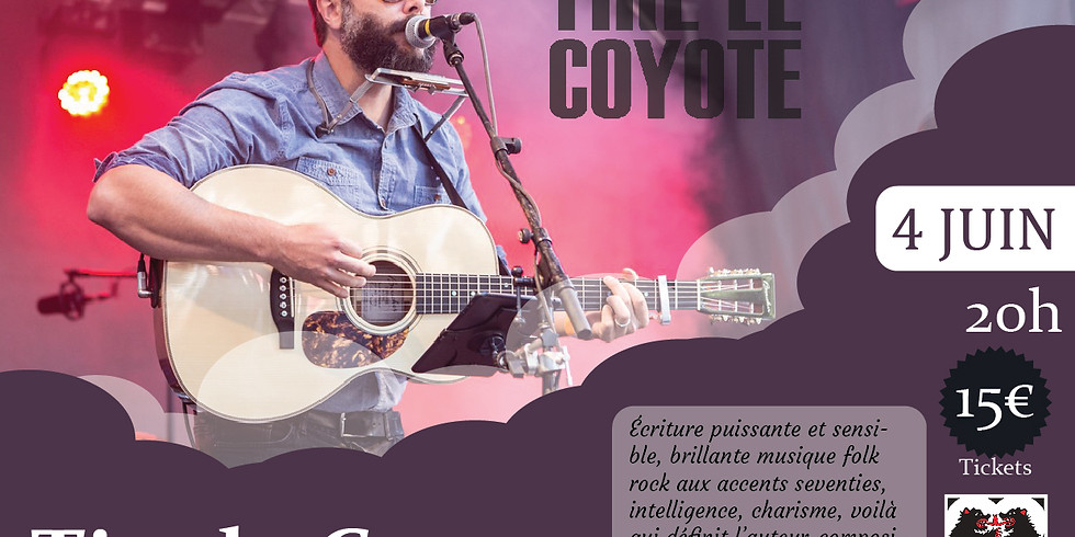 """Concert """"Tire le Coyote"""" by 2 Ours"""