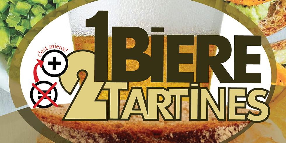 """Soirée """"1 bière = 2 tartines"""""""
