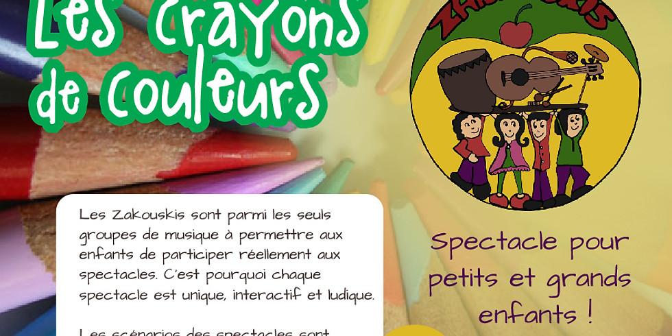 Noël au théâtre : Les crayons de couleurs !